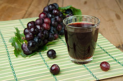 Grapes juice Royalty Free Stock Image