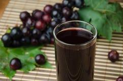 Grapes juice Stock Photo