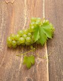 Grapes with leaves Royalty Free Stock Photography