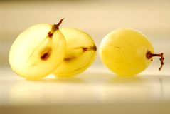 Grapes macro Royalty Free Stock Image