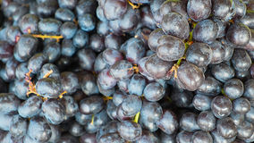 Grapes not cleaning on maket Stock Photo