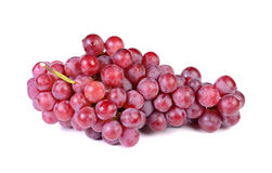 Grapes on over white background Royalty Free Stock Photography