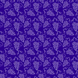 Grapes pattern Stock Images