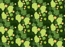 Grapes patterns backgrounds seamless. Grapes patterns seamless backgrounds s Stock Photography