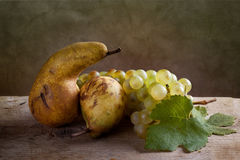 Grapes and Pears Stock Image
