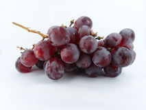 Grapes. Place grapes on a white background Stock Image
