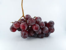 Grapes. Place grapes on a white background Royalty Free Stock Images