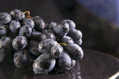 Grapes on the plate Royalty Free Stock Photo