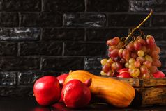 Fruit Autumn. Gifts of Autumn. Stock Images