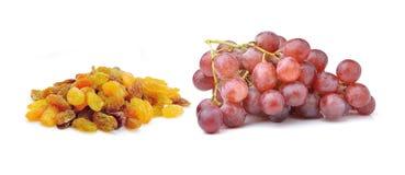 Grapes with raisins Royalty Free Stock Photos