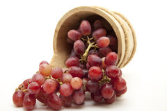 Grapes in the receptacle Royalty Free Stock Photography