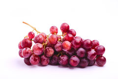 Grapes red globe Stock Image