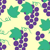 Grapes seamless Stock Photography