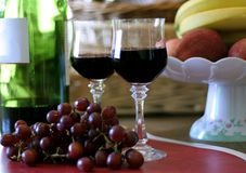 Grapes Still LIfe Stock Photos