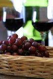 Grapes Still LIfe stock photography