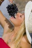 grapes summertime Στοκ φωτογραφίες με δικαίωμα ελεύθερης χρήσης