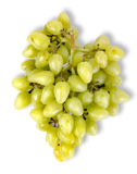 Grapes Top View Stock Photography