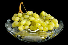 Grapes in a vaze Royalty Free Stock Images