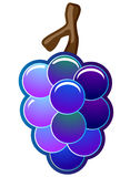 Grapes Vector Icon Stock Photography