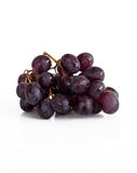 Grapes on white Stock Image