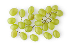 Grapes on White Royalty Free Stock Photography