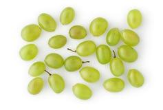 Grapes on White Stock Photo