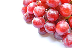 Grapes  on white. Fresh grapes isolate on white background Royalty Free Stock Photo