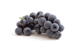 Grapes on white backgound Royalty Free Stock Images