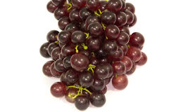 Grapes. On a white background Stock Photos