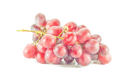 Grapes, white background Stock Images