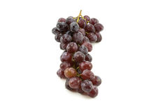 Grapes on a white background Royalty Free Stock Photos