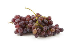 Grapes on a white background Stock Image