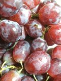 Grape buy from the mall royalty free stock photography
