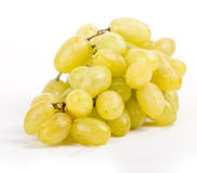 Grapes white on white Stock Images