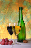 Grapes and wine Stock Photo