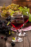 Grapes and wine Royalty Free Stock Photography