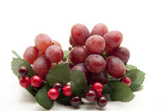 Grapes in the wreath Royalty Free Stock Photography