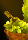 Grapesandwine Royalty Free Stock Image
