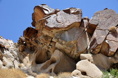 Grapevine Canyon, Nevada Stock Photo