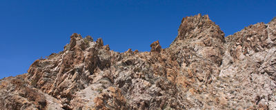 Grapevine Canyon - Nevada Stock Images