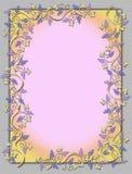 Grapevine frame Stock Image
