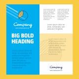 Graph πρότυπο Business Company αφισών με τη θέση για το κείμενο και τις εικόνες Διανυσματική ανασκόπηση διανυσματική απεικόνιση