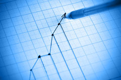 Graph Royalty Free Stock Images