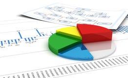 Graph Stock Image