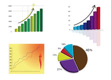 Graph Royalty Free Stock Image