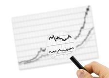 Graph vector illustration