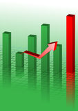 graph background Stock Photos