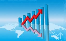 Graph Chart Royalty Free Stock Image