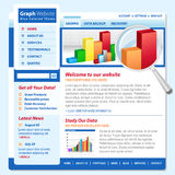 Graph Chart Web Technology Internet Page Royalty Free Stock Photo
