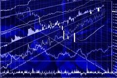 Graph, diagram (abstraction) Royalty Free Stock Photos